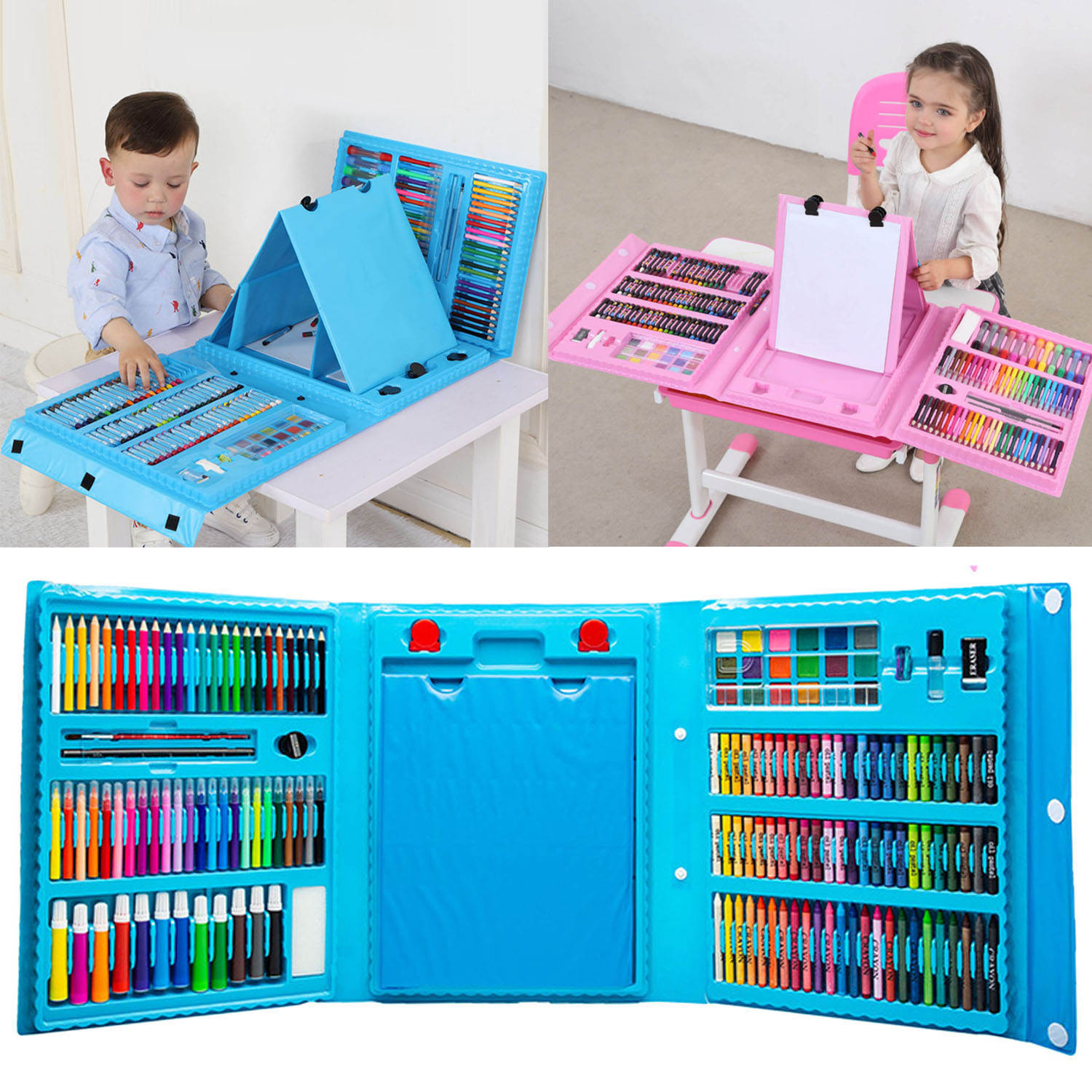 Kids Colorful Crayons/Oil Painting Sticks/Markers/Colored Pencils/Watercolor Pigment Painting Drawing Graffiti Tool ToyKids Colorful Crayons/Oil Painting Sticks/Markers/Colored Pencils/Watercolor Pigment Painting Drawing Graffiti Tool Toy