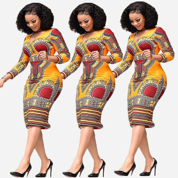 Lue's House African Clothing New Women Fashion Summer Dress