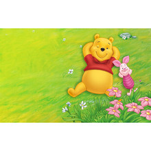 100% full 5D Diy diamond painting Winnie the Pooh 3D diamond painting round rhinestone diamond painting embroidery carton (2)YY(China)