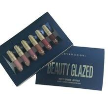 6Pcs/Set Liquid Makeup Matte Lipstick Lip Kit Gloss Long Lasting Beauty Make Up Cosmetics