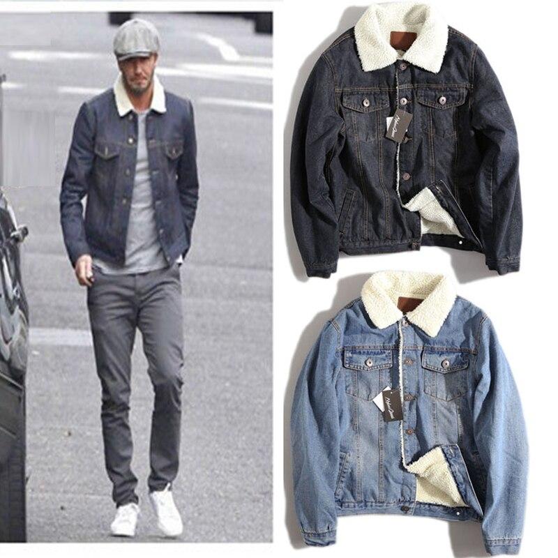 Popular Mens Fur Collar Denim Jacket-Buy Cheap Mens Fur Collar ...