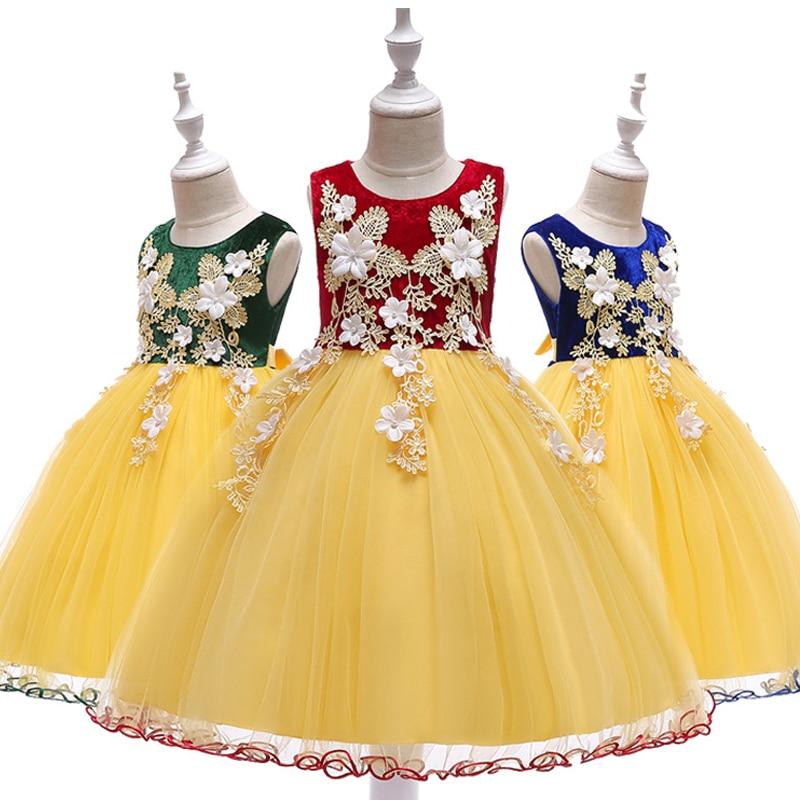 Novi 2018 Baby Djevojke haljina s dugim rukavima Odjeća Zimski Djeca - Dječja odjeća