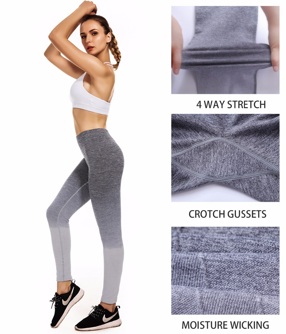 Freeskin Yoga Pants High Stretch Leggings Sport Fitness Workout Clothes For Women Seamless Fitness Gym Leggings Running Pants