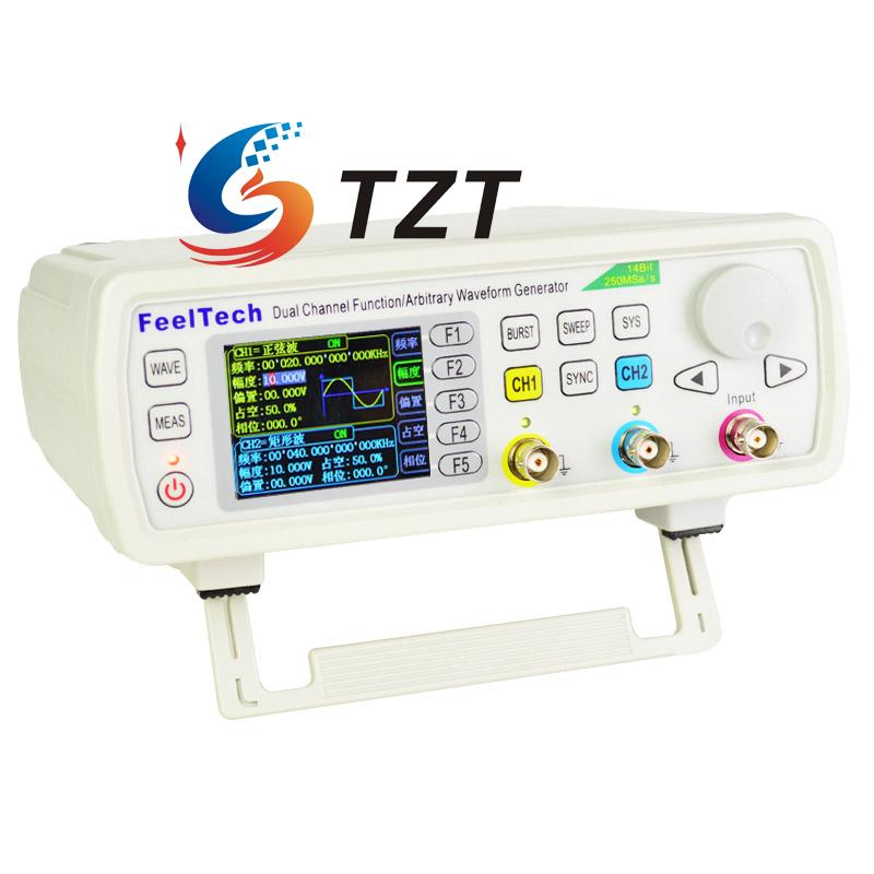 FY6600 12M/30M/50M/60M DDS Function Arbitrary Waveform Generator Pulse Signal Source Frequency Meter Dual Channel FeelTech fy2300h function arbitrary waveform generator 25m 30m 40m 50m 60m frequency signal meter dds