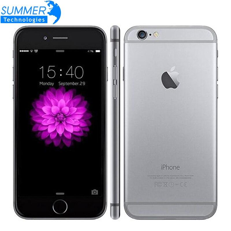 """Цена за Оригинальный разблокирована apple iphone 6 мобильный телефон wcdma lte ios Dual Core 4.7 """"IPS 1 ГБ ОПЕРАТИВНОЙ ПАМЯТИ 16/64/128 ГБ ROM iPhone6 Использовать Мобильный телефоны"""