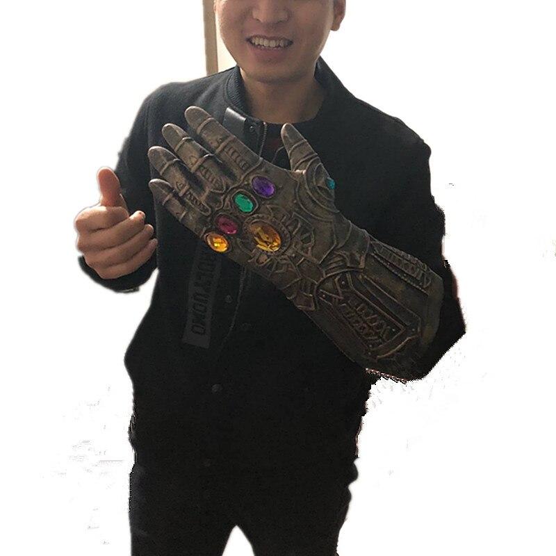 Avengers Infinity War Gloves Helmet Cosplay Thanos Masks Thanos Mask Infinity Gauntlet Halloween Props DropShipping