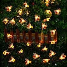 Милый светодиодный светильник в форме пчелы 5 м 20 светодиодов