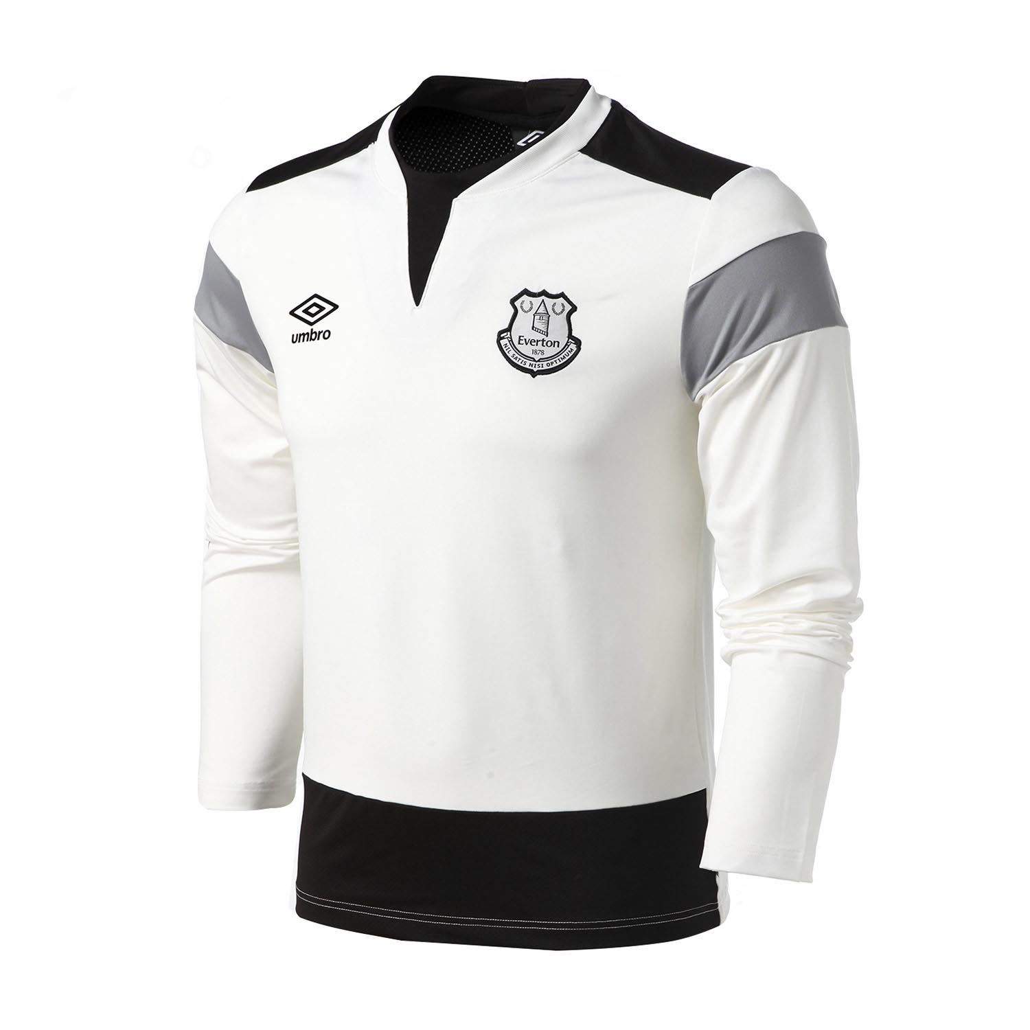 Umbro Men Everton Long Sleeved shirt Running Shirt Men Soccer Jerseys T-shirts Tops Slim Fit Shirt Quick Dry Sportswear Ucb63019 органайзер для хранения носков sima land цвет белый на 20 пар