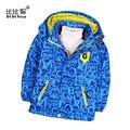 2017 children's windbreakers long sleeve spring windbreaker kid Coats boy windbreaker Camouflage Baby jacket Hooded kids jacket