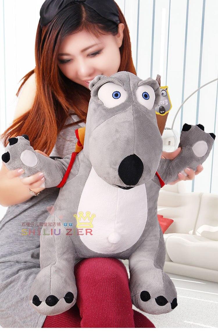 Korean movie & TV Backkom 52cm Backkom bear with bag plush toy doll w2508