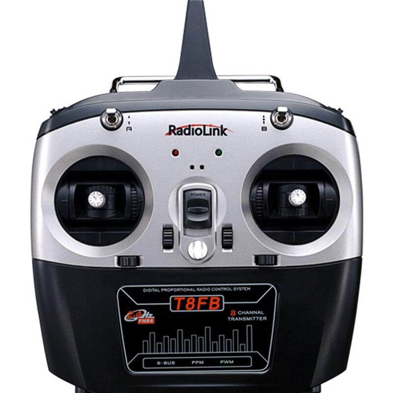 RadioLink T8FB 2.4 GHz 8ch émetteur R8EF récepteur Combo télécommande Rontrol pour hélicoptère RC bricolage RC quadrirotor avion