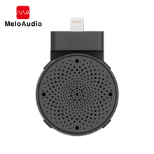 лучшая цена 3D Stereo Microphone For Phone iOS 9 To 12 Devices iPhone iPod Recording Karaoke Microphone Wireless Professional Condenser Mic