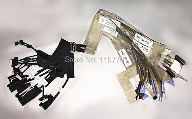 Laptop/notebook Lcd/led/lvds Audio&video Monitor Flex Cable For Dell Precision M6800 Hd+fhd Var10 Normal Dc02c005300 0tdm79 To Have Both The Quality Of Tenacity And Hardness Computer & Office