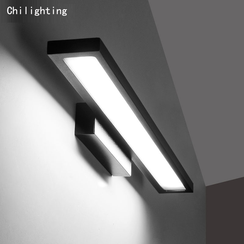 Hot sale modern 12W LED wall lamp mirror lamp anode oxide surface finishing bedside lamp bathroom aluminum material modern lamp trophy wall lamp wall lamp bed lighting bedside wall lamp