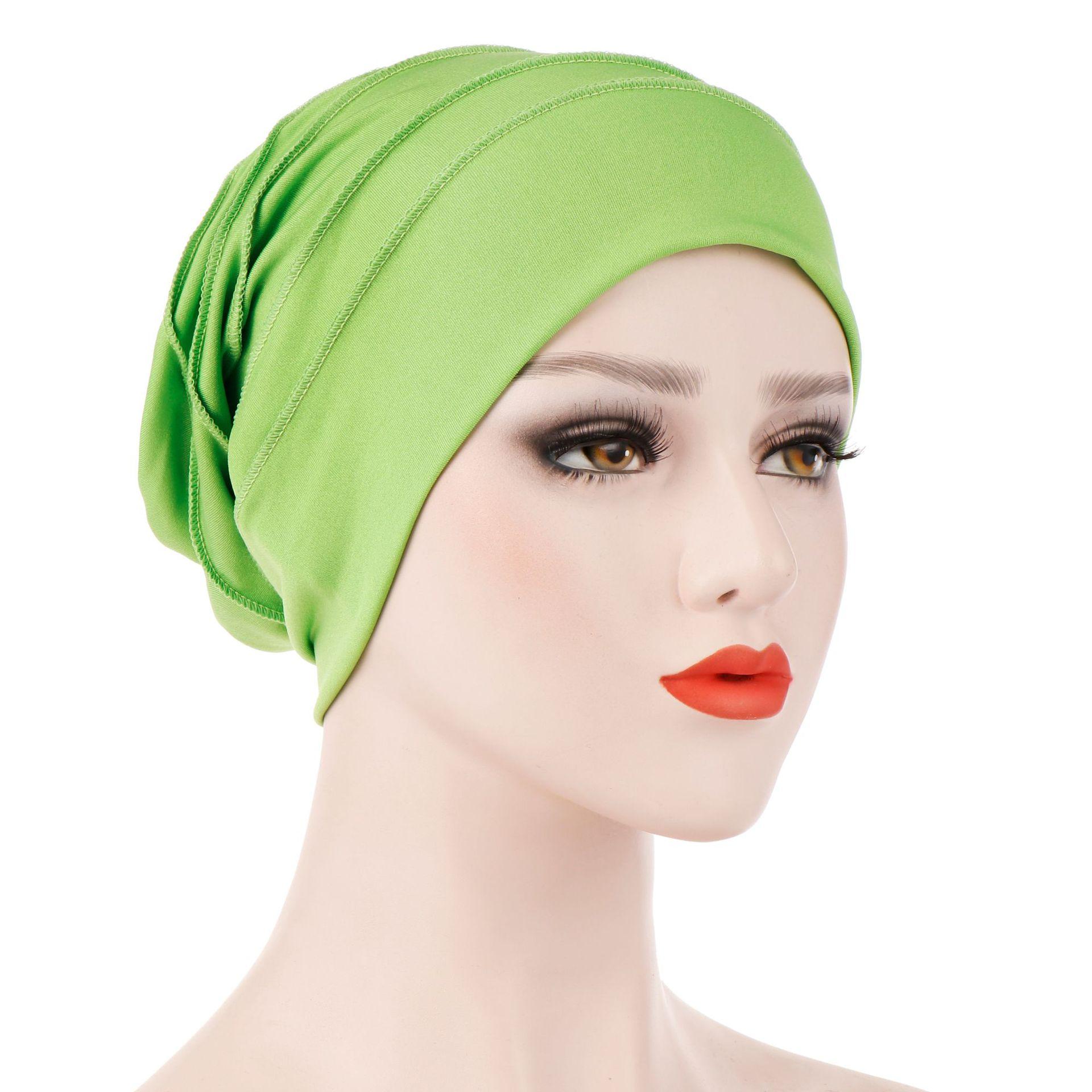 Women Muslim Hijab Caps Soft Comfort Inner Islamic Under Scarf Hats Turban Muslim Muslim Clothing  Muslim Head Scarf