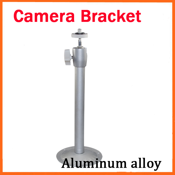 camera Bracket Stand CCTV Camera Bracket Universal Outdoor/Indoor Monitor Accessories Metal 19cm Wall Lifting Silvery White free shipping universal metal white wall mount stand bracket for cctv security camera