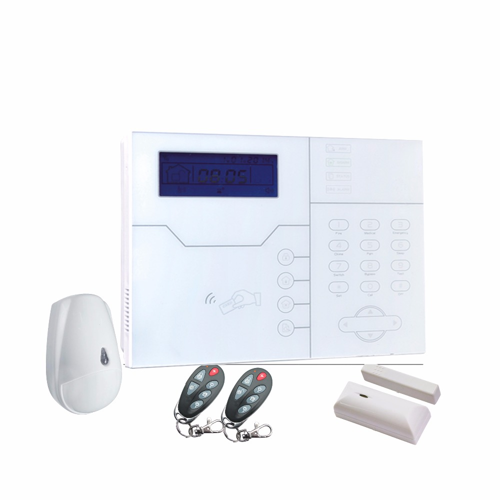 868mhz MeiAn ST-VGT TCP/IP GSM GPRS Alarm System French Voice Menu Home Alarm 433mhz GSM  TCP IP Home Alarm Security System