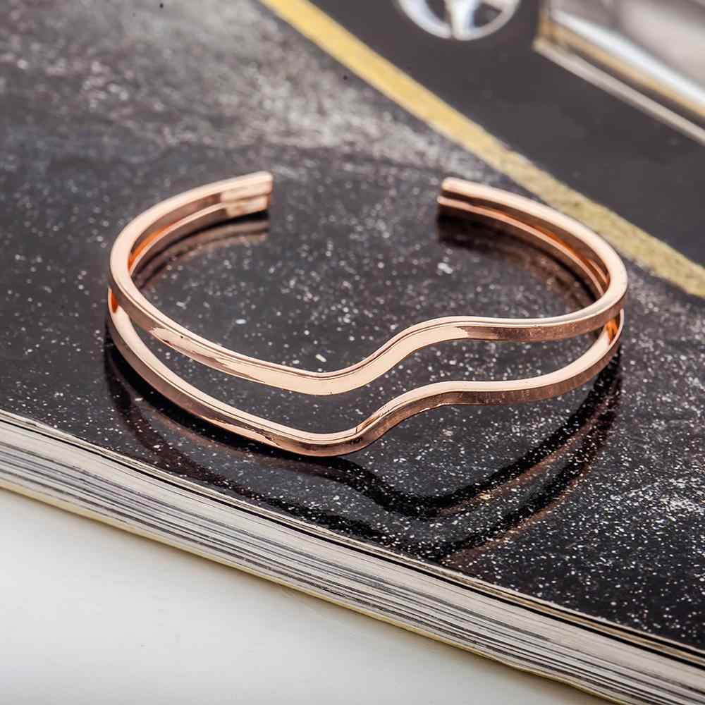 Punk Multi capa pulseras mujer serpiente cadena moda oro/plata chapado encanto Pulseira femenina mujer joyería
