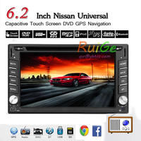 6.2 LCD Touch Screen 2Din android Car DVD Player built in RDS FM AM Radio Car stereo player Bluetooth SD USB DVD Player