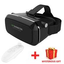VRกล่องG Oogleกระดาษแข็งVR ShineconจริงเสมือนVRแว่นตาแว่นตา3Dภาพยนตร์หมวกกันน็อก4.5-6.0นิ้ว+บลูทูธควบคุมระยะไกล