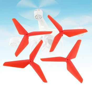 2 Pairs CW/CCW Propeller Props Blade for Syma X5C RC Drone Quadcopter Aircraft UAV Spare Parts Accessories Component