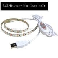 USB Dimming Casing Waterproof LED Strip 2835 SMD 0 5m 1m 1 5m 2m 60Leds M
