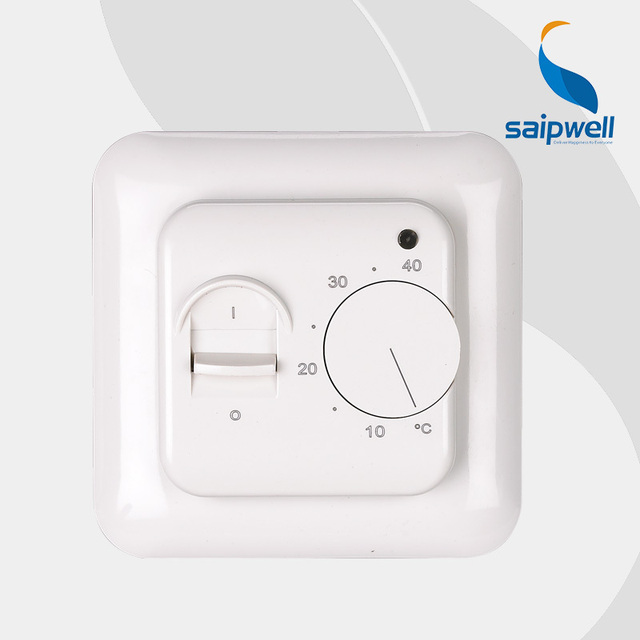 Saipwell Floor heating Thermostat, Room Thermostat ,Mechanical ...