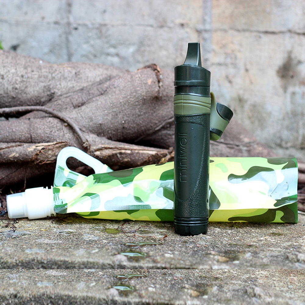 Hiker Micro filter Outdoor Sport Water Filter Straw Travel Kits