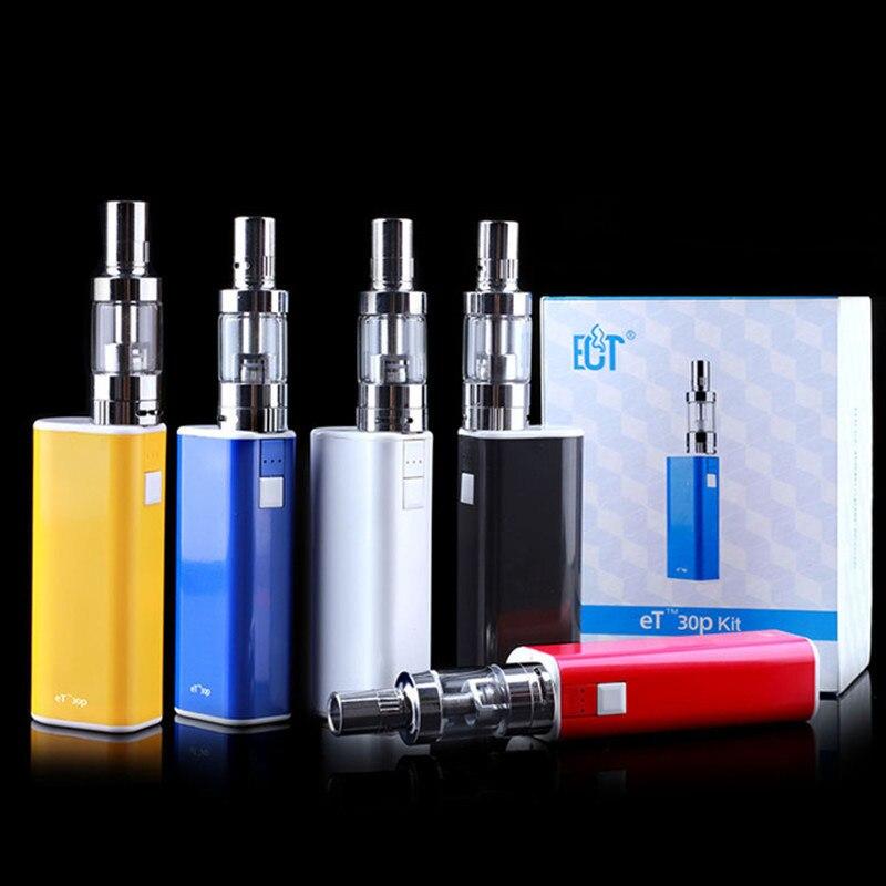 Ect электронная сигарета поле Mod Starter Kit Et 30 P 2.5 мл VAPE воть мини туман бак 2200 мАч