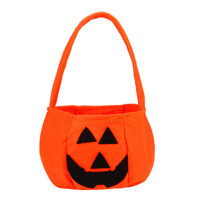 Classic Happy Halloween Bat Style Candy Bag Gift Bag Bagkin Bag Organizador Collect Tools Children's Gift Decoration of Party