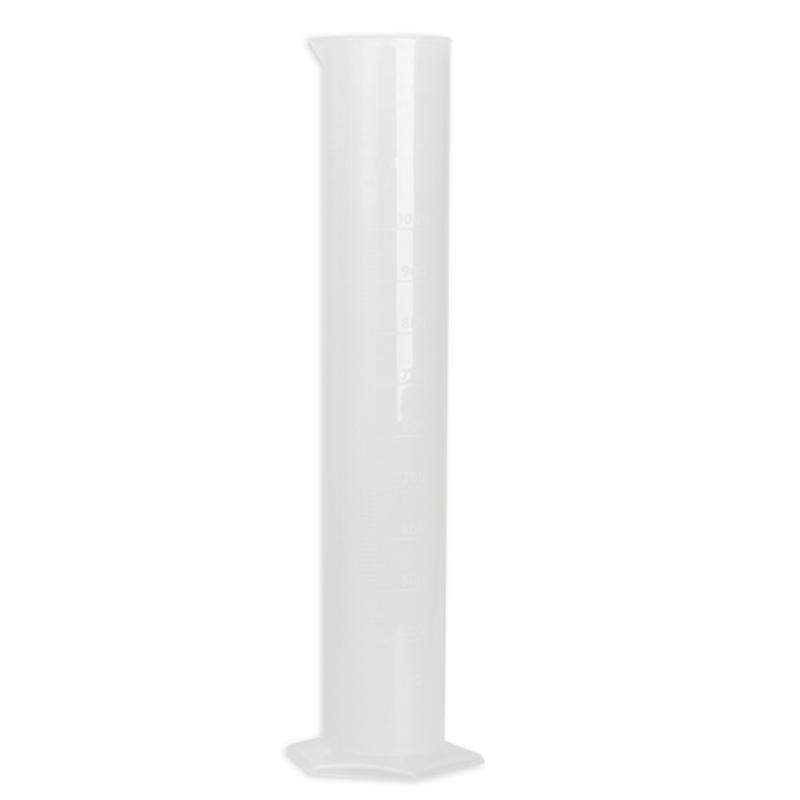 1000ml Translucent Plastic Measuring Cylinder Straight-type Chemistry Laboratory Test Graduated Cylinder School Probeta Graduada