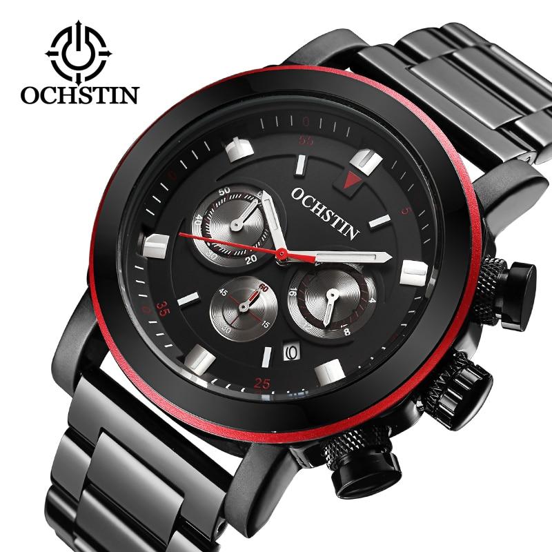 Männer sportuhren Luxus Markenuhr Männer OCHSTIN Multifunktions Lässige Armbanduhren Für Männer Relogios Masculinos