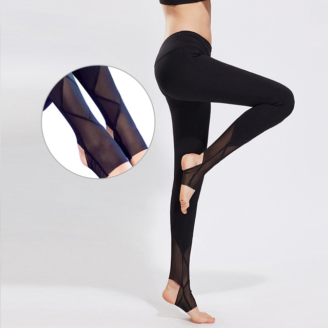 New Women Sexy Yoga Pants Dry Fit Sport Pants Fitness Gym Pants Workout Running Tight Sport Leggings Female Trousers