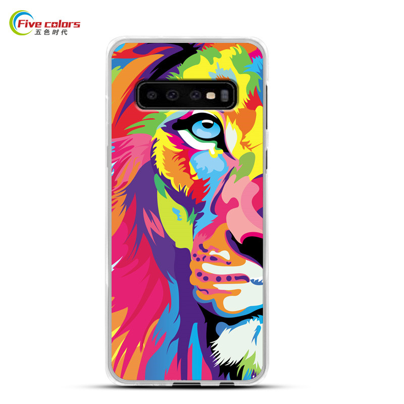 S10 Case For Samsung Galaxy S10 Plus Case Soft Silicone Phone Case Samsung Galaxy S10 Lite Case Luxury Cartoon Paint Cover Funda