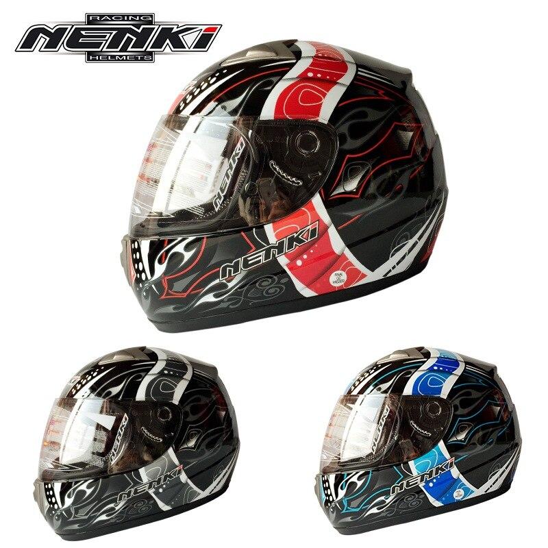 (1шт&4цвета) 100% оригинальный Бренд Нэньки 822 мотоцикла полное лицо шлем мотоцикл шлем гонки Защитные шлемы КАСКО
