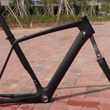 FR316 Clearance sale 700C Road Frame  Toray Carbon UD Matt Road Bike Bicycle Cycling Frame 52cm ( Frame, Fork, Seatpost )