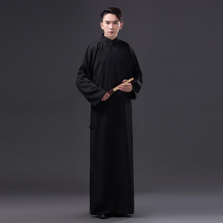Chinese Folk Dance Men Robe Chinese Traditional Clothing