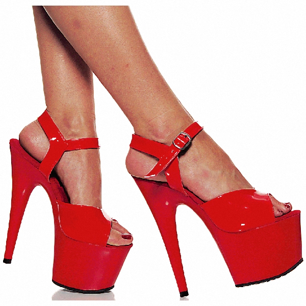 d19bdb2aae4 Shoes 7 Inch Pointed Stiletto High Heels Open Toe Womens Shoes 17cm High  Heeled Sandals Platform Dance Shoes-in High Heels from Shoes on  Aliexpress.com ...