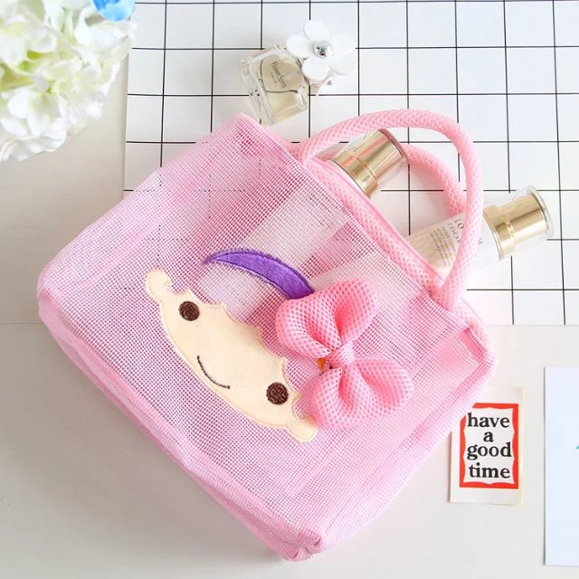 71469c53bf5 fotos Liste. Tags  cartoon, japan, hello, kitty, melody, cinnamoroll, dog,  pudding, polyester, transparent, cosmetic, bags, storage, mesh ...