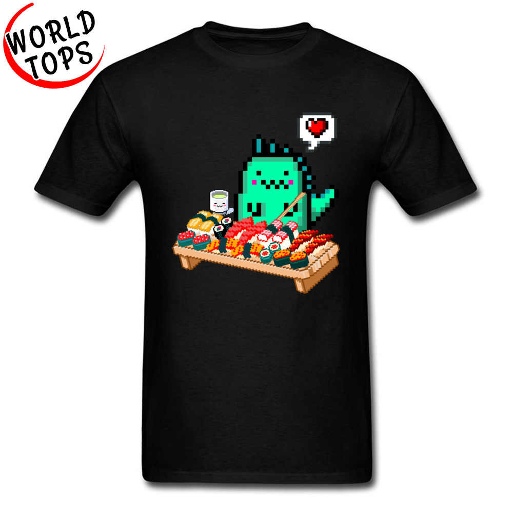 Totoro Lachs Sushi Fest Lustige T-Shirts Jugend Cartoon Print Personlized Tops T Shirt Comic Neuheit Nette Graphic Tee Shirts Jungen