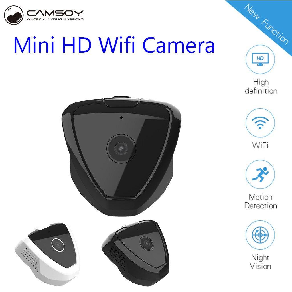 Camsoy S6 WiFi Mini Camera 1080P HD IP P2P Night Vision Remote Home Security Camera Wireless Night Vision Camera Baby Monitor