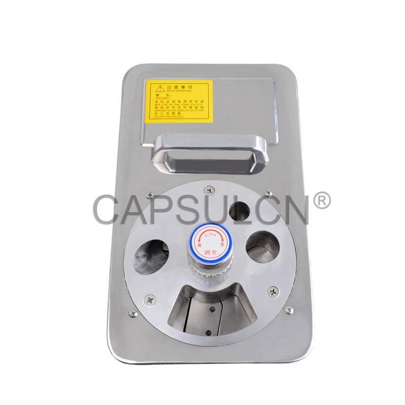 (CapsulCN) CN-838B Chinese Medicine Slicer Cutter, Ginseng/Pilose Antler Slicing in Pharmacy Machine.