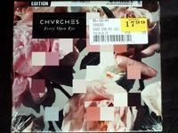 Chvrches Every Open Eye USA CD SEALED Digipak Special Edition Bonus Tracks
