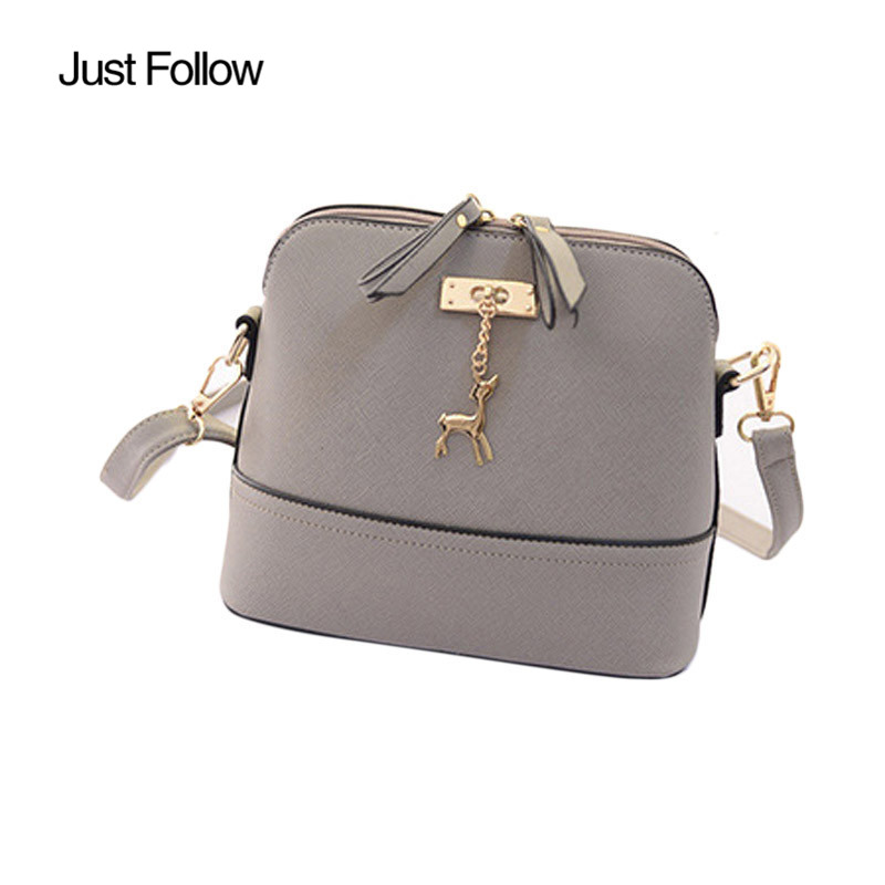 2017 New Women Hardware deer ornaments shell package Women Small Shell Leather Handbag Women Messenger Bags Vintage Casual Bag люстра fire small ornaments