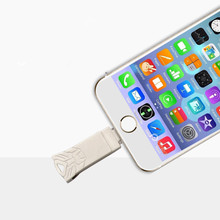 OTG USB Flash Drive 2.0 for iPhone/iPad/IOS/Android/PC 64GB 32GB 16GB 8GB pen drive 3 in 1 high speed Pendrive