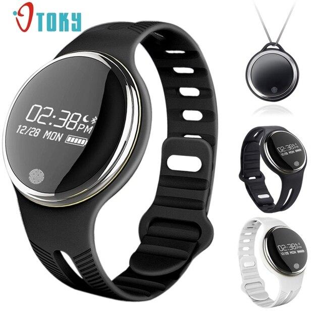 Отличное Качество E07 Bluetooth Браслет Smart Watch Спорт Здоровый Шагомер Sleep Monitor Датчик Силы Тяжести Легкий Пакет