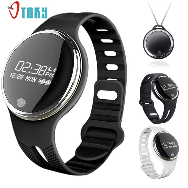 Excellent Quality E07 Bluetooth Bracelet Smart Watch Sport Healthy Pedometer Sleep Monitor Gravity Sensor Lightweight Package