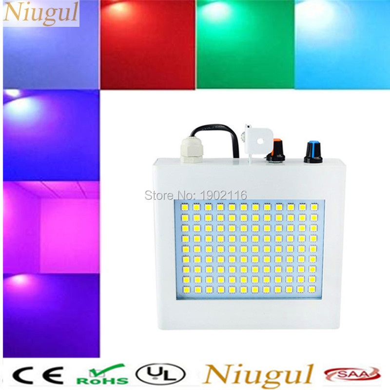 Factory Price 108pcs Led Strobe Light /Star Strobe Led/ Night Club Bar  Disco Music Sound Activated Party Strobe Light /Led Flash