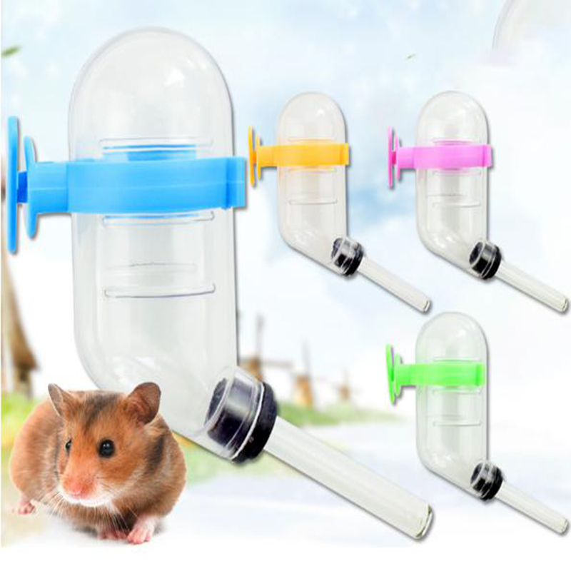 Cute Hot Selling Pet Drinking Fountains Plastic Automatic Water Drinking Bowl For Hamster Pet Water Dispenser Hamster Drinke