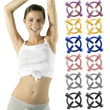 Buy 1pcs Nipple Correction Fashion Women Body Piercing Chest Nail Screw Bell Fake Nipple Ring Jewelry directly from merchant!
